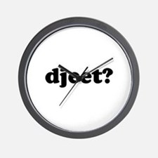 Djeet? Wall Clock