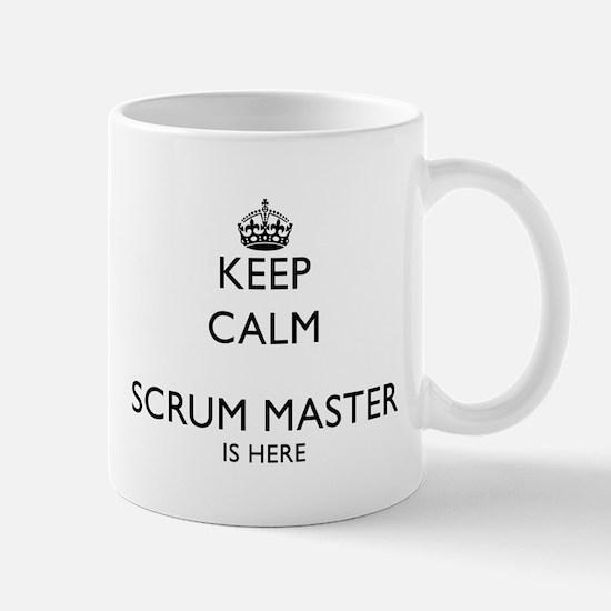 Calm Scrum master Mugs