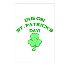 Due on St Patrick's Day Postcards (Package of 8)
