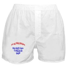 75 drink in hand Boxer Shorts