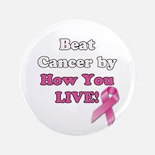 Beat Cancer Button