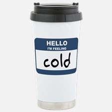 Funny Nametag Travel Mug