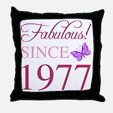 Funny Birth Throw Pillow