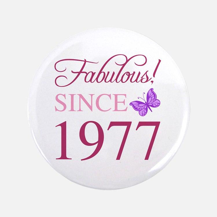 Cute Cute 40th birthday Button