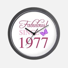 Funny 40 year old women Wall Clock