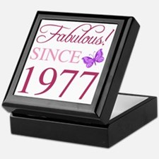 Funny 40th birthday Keepsake Box