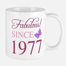 Fabulous Since 1977 Mugs