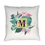 Flamingo Woven Pillows