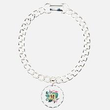 Personalized Flamingo Mo Bracelet