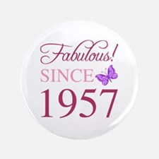 Cute 60th birthday women Button