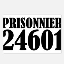 Prisonnier 24601 Postcards (Package of 8)