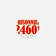 Prisonnier 24601 Mini Button (10 pack)