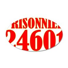 Prisonnier 24601 Wall Decal