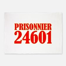 Prisonnier 24601 5'x7'Area Rug