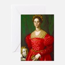 A Young Woman and Her Little Boy by Agnolo Bronzin