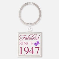 Funny 1947 Square Keychain