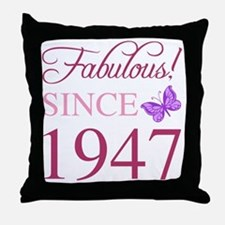 Unique Women birthday Throw Pillow