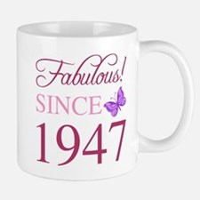Fabulous Since 1947 Mugs