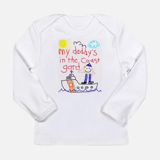 DaddyCoastGuard Long Sleeve T-Shirt