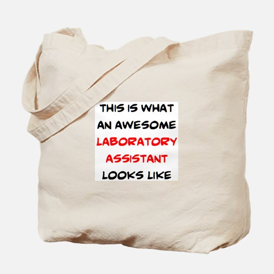 awesome laboratory assistant Tote Bag