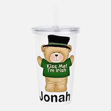 Jonah's Irish Bear Acrylic Double-wall Tumbler