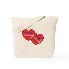 HEBREW I AM MY BELOVED Tote Bag