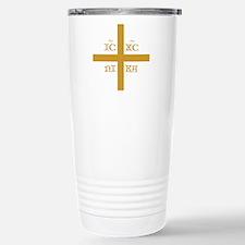 ICXC NIKA Orange for Bl Stainless Steel Travel Mug
