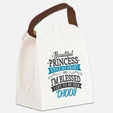 Stole Daddy's Heart Canvas Lunch Bag