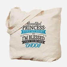 Stole Daddy's Heart Tote Bag