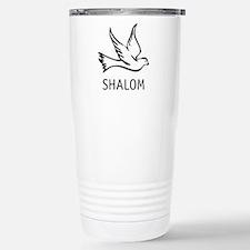 Unique Menorah Travel Mug