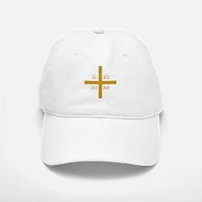 ICXC NIKA Gold Jesus Christ Cross Symbol Ortho Baseball Baseball Cap