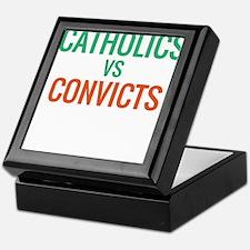 Catholics vs Convicts Keepsake Box