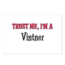 Trust Me I'm a Vintner Postcards (Package of 8)