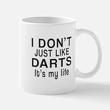 Darts It Is My Life Mug