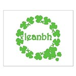 Leanbh Irish Word for Baby Small Poster