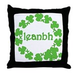 Leanbh Irish Word for Baby Throw Pillow