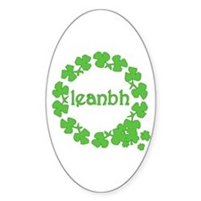 Leanbh Irish Word for Baby Decal