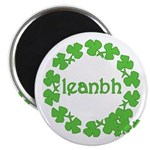 Leanbh Irish Word for Baby Magnet