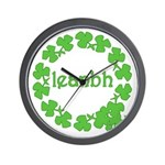 Leanbh Irish Word for Baby Wall Clock