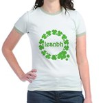 Leanbh Irish Word for Baby Jr. Ringer T-Shirt