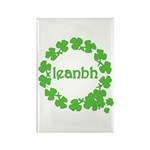 Leanbh Irish Word for Baby Rectangle Magnet (10 pa