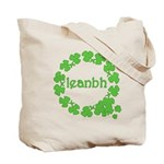 Leanbh Irish Word for Baby Tote Bag