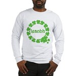Leanbh Irish Word for Baby Long Sleeve T-Shirt