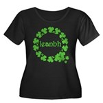 Leanbh Irish Word for Baby Women's Plus Size Scoop
