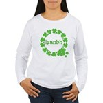 Leanbh Irish Word for Baby Women's Long Sleeve T-S