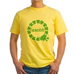 Leanbh Irish Word for Baby Yellow T-Shirt