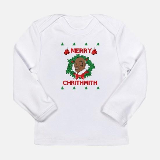 Mike Tyson Merry Chrithmith Merry Christmas Long S
