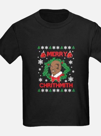 Mike Tyson Merry Chrithmith Merry Christmas T-Shir