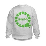Leanbh Irish Word for Baby Kids Sweatshirt