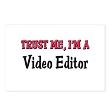 Trust Me I'm a Video Editor Postcards (Package of